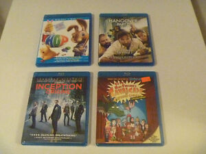 Blu Rays $3 Each Or All 4 For $10