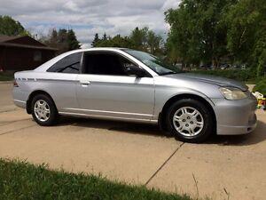 2001 Honda Civic lx Coupe (2 door)