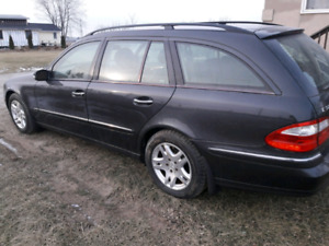 2004 mercedes e320 awd wagon