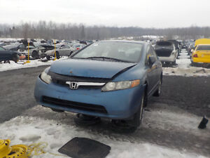 2008 Honda Civic Now Available At Kenny U-Pull Cornwall