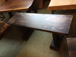 From Our Showroom Benches