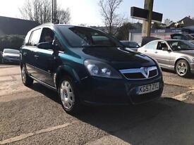 2007 Vauxhall Zafira 1.6 i 16v Life 5dr