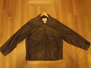 Eddie Bauer Womens Leather Jacket