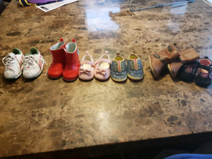Shoes all size 3