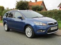 2009 Ford Focus 1.6 TDCi TITANIUM 5DR TURBO DIESEL ESTATE ** 65,000 MILES * F...