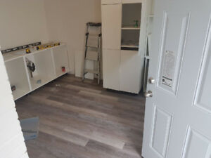 2 bed main floor complexly renovated
