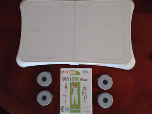 Wii Fit Balance Board and Game for Sale