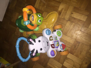 Turtle & cow musical riding toys perfect working condition