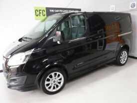 Ford Transit Custom SPORT 2.2TDCi 155 290 L1H1 BUY FOR ONLY £199 A MONTH FINANCE