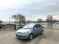 2007 Ford Fiesta 1.4 Zetec Climate 5 Door Hatchback Blue