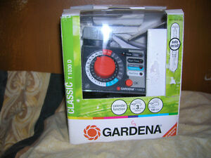 Gardena Electronic Water Timer With Calendar Function T1030D New