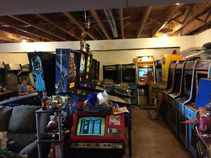 Video Arcade and Pinball Games Wanted Dead or Alive