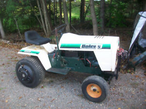 Bolens Lawntractor, 1400 with PTO.  Snowblower,Mower&Plow