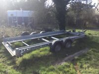 WOODFORD Hydraulic Tilt bed Trailer
