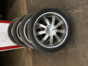 22 inch chrome wheels lincoln or ford bolt pattern