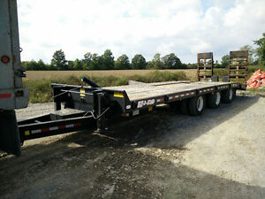 2009 BWS 25Ton Tri-Axle Float Trailer
