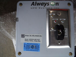 Alwayson 120VAC 11AMP POWER INVERTER BACK-UP AUTOMATIC TRANSFER