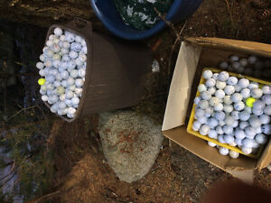 Used golf balls-bring your bag