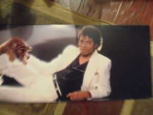 THRILLER!! Rare Michael Jackson Vinyl Record Album! Clean! London Ontario image 2