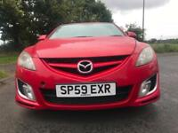 Mazda 6 2.2TD Diesel Red WARRANTY 12 MONTHS MOT FULL SERVICE HISTORY