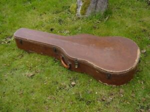 wanted acoustic guitar case brown or tweed vintage condition is