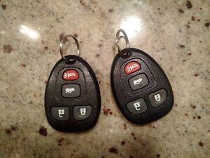 Pontiac G6 Key Fob Remotes