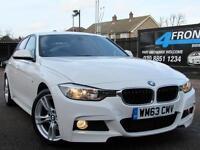 2014 BMW 3 SERIES 320D M SPORT AUTOMATIC 4DR SALOON 2.0 DIESEL SALOON DIESEL