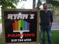 RYANS PAINTING; DARE TO COMPARE;MIKE 519-503-7017 519-744-6934