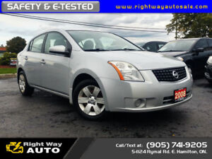 2008 Nissan Sentra 2.0 | SAFETY & E-TESTED