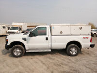 2008 Ford F350 Long Box 4x4 Service Truck For Sale  $7495 Calgary Alberta Preview