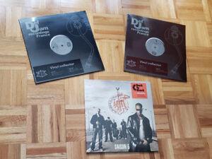"""IAM - Saison 5 (2xLP) + 2 x 12"""" single disques vinyles - neuf!"""