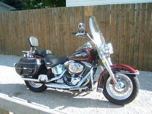 2002 Heritage softail 24000.kms   will trade for electra glide