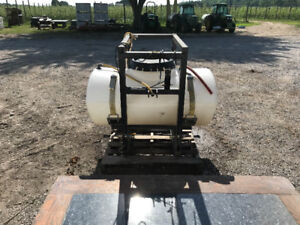 Rittenhouse sprayer tank and 3 point hitch