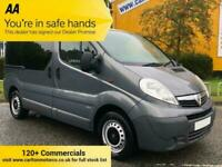 2014 Vauxhall Vivaro 2.0CDTi 90 [ MPV WHEEL CHAIR ] EcoFLEX SWB VAN A/C 2.9t
