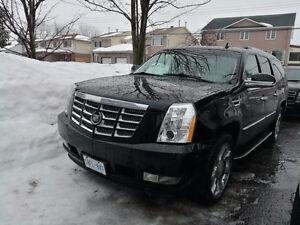2009 Cadillac Escalade BLACK SUV, Crossover