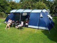 pro action 8 man tent