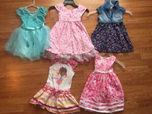 Girls size 4 summer clothing lot