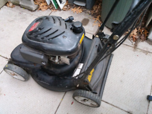 Inexpensive front drive lawn mower