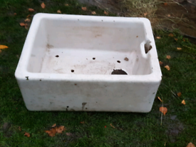 Vintage Butler Belfast Sink No.3 with pre drilled holes