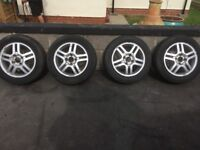 Alloys and tyres 195/60/15 4x108
