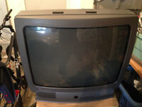 GE 25 inch tube television