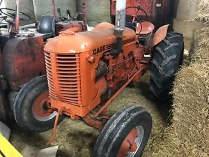 Case D Tractor - Gas -