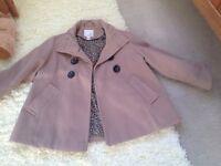 Next girls coat size 7/8