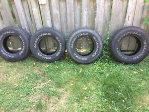 Chevy gmc rims and tires for 100 bucks