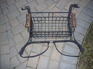 Yamaha G16 Golf Cart rear basket and rack.