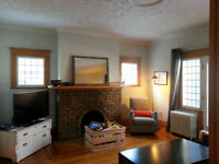 Beautiful Main Floor in NDG, furnished, including utilites