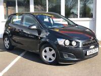 Chevrolet Aveo 1.2 LS (black) 2012