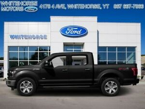 2015 Ford F-150 4X4-SUPERCREW PLATINUM-157 WB  - $325.10 B/W