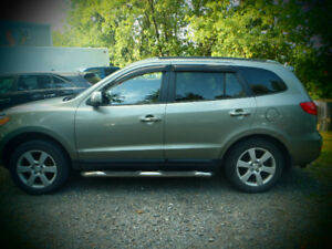2009 HYUNDAI SANTA FE 4X4 LIMITED /LEATHER LOADED HEATED SEATS