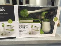 Joseph Joseph 3- piece kitchen sink set